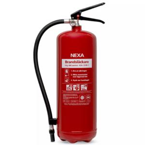 Brandsläckare Röd 6kg