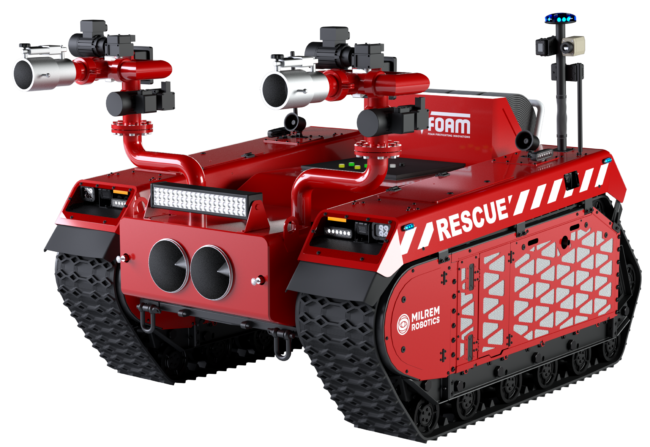 Milrem Robotics Rescue